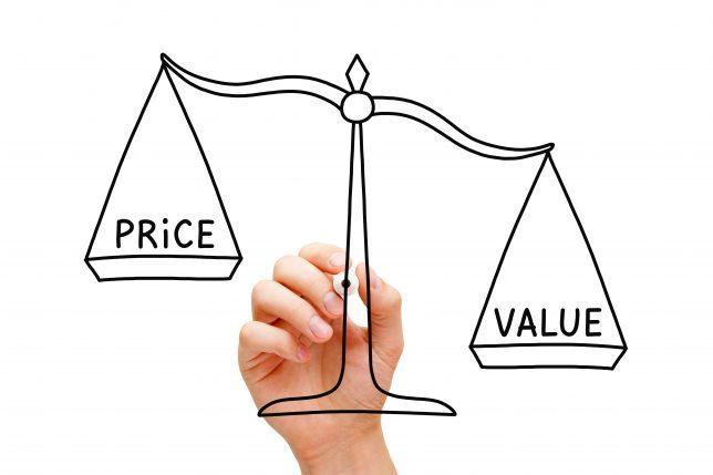 Value Price Scale Concept