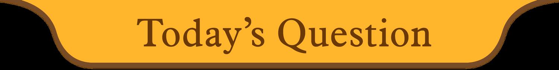 今日の魔法の質問